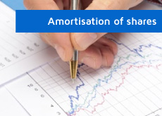 btn-amortisation of shares