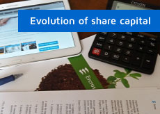 btn-evolution share capital